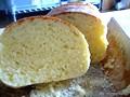 卵入り生地でレンジパン